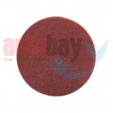 Yuvarlak Zımpara Keçesi Kırmızı 150mm.