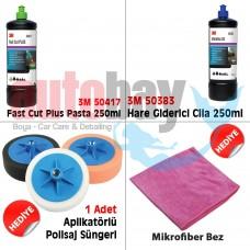3M Boya Koruma Seti 250 ml ( 50417 Pasta & 50383 Hare&Cila)