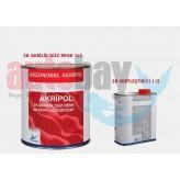 Akzo Kemipol Akripol 2K Boya Isz K-667 Isz Kırmızısı Seti
