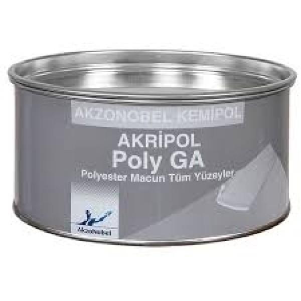 Akzo Nobel Akripol GA Galvaniz Polyester Macun 2/1