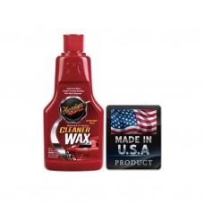 Meguiars 1216 Cleaner Wax Temizleyici Koruyucu Sıvı Wax 473 ml