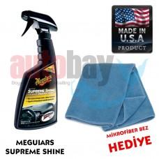 Meguiars 4016 Supreme Shine Vinil Kauçuk Plastik Yüzey Koruma B01