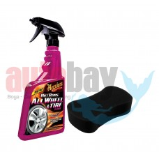 Meguiars 9524 Hot Rims All Wheel Sprey Jant Temizleyici Set