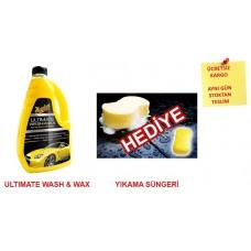 Meguiars Ultimate Wash& Wax Boya Koruyucu Sarı Şampuan 1.42Lt 01