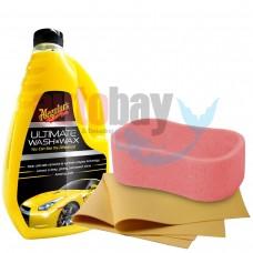Meguiars Ultimate Wash& Wax Boya Koruyucu Sarı Şampuan 1.42 Lt