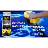 Meguiars Ultimate Wash& Wax Boya Koruyucu Sarı Şampuan 400 ML