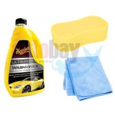Meguiars Ultimate Wash& Wax Boya Koruyucu Sarı Şampuan BS01