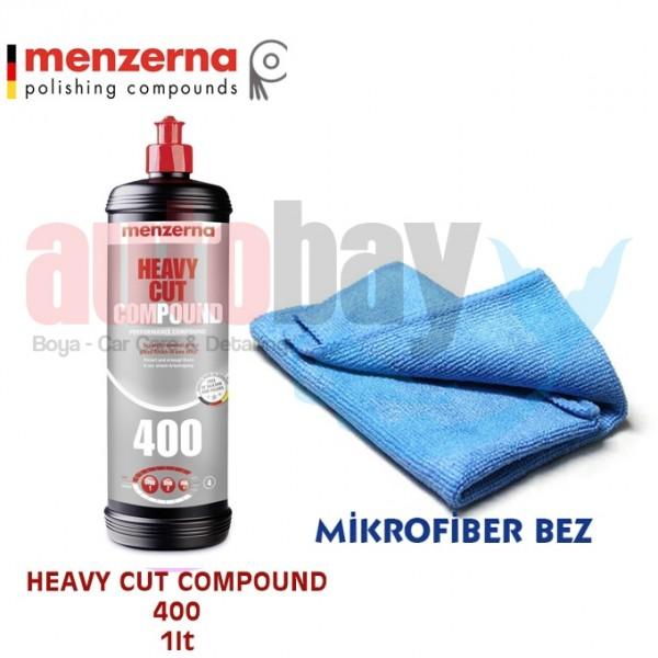 Menzerna Fast Gloss 400 - Çizik Çıkarıcı Pasta 1lt. B01