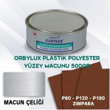 Orbay Orbylux Plastik Polyester Yüzey Macun Seti 500gr