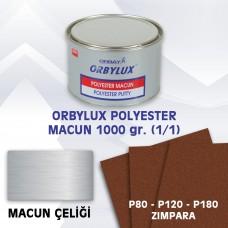 ORBAY ORBYLUX POLYESTER (ÇELİK) MACUN SETİ 1000gr